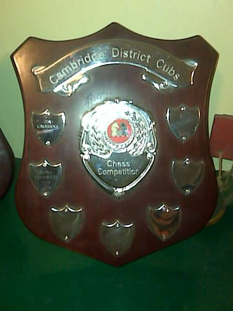 The Cambridge District Cubs Chess Shield