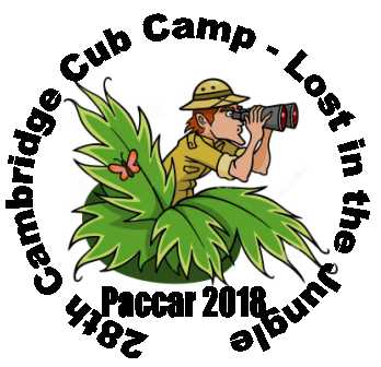 Camp badge for Summer Camp 2015 at Leslie Sell Activity Centre, Bromham