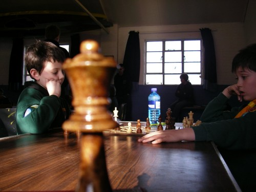 Chess at the 28th Cambridge Cub hut