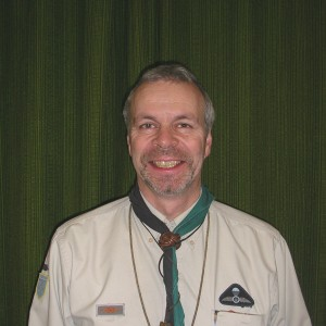 Geoff - group scout leader of the 28th