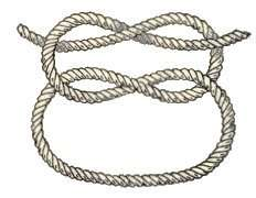 Image of knot, many of which on this page are courtesy of 64th Birkenhead Sea Scouts